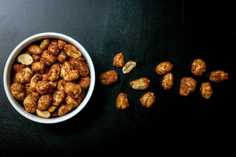Caramelised Chilli Honey Peanuts